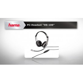 "Hama PC Headset ""hs-100"""