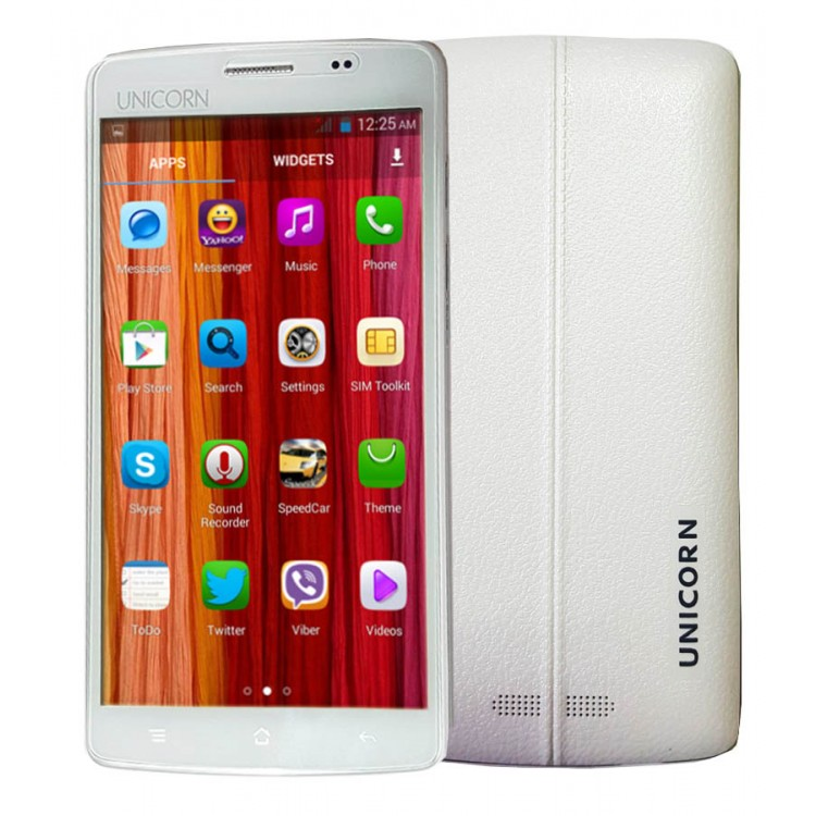 No Camera No GPS Smart Phone,UNICORN STAR UC-S19 , 5.0 Inch, MT6572, Dual SIM ,Wifi, 3G, Android 4.4.2 (KitKat), 1GB RAM, 8GB Internal, White
