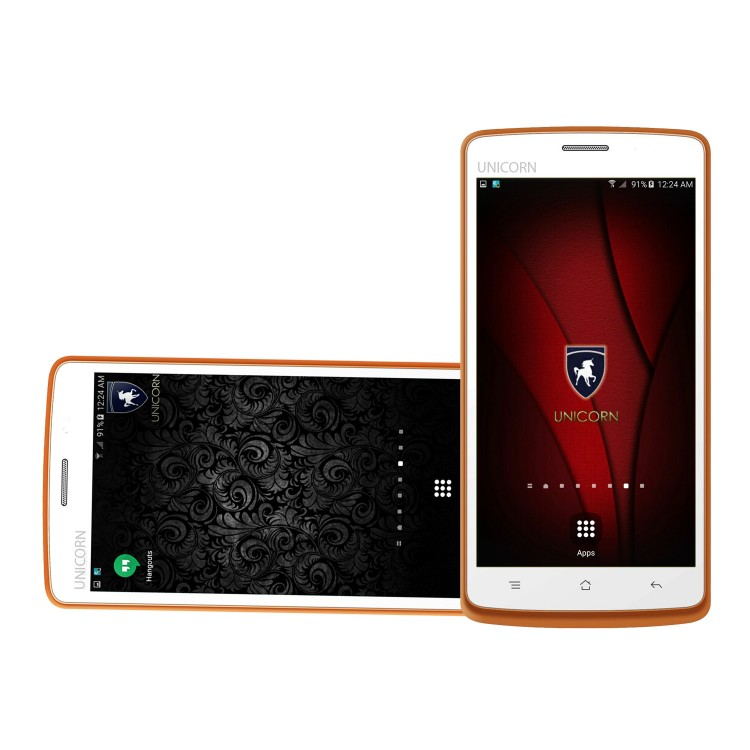 No Camera No GPS Smart Phone,UNICORN STAR UC-S19, 5.0 Inch Dual SIM ,Wifi, 3G, Android 4.4.2 (KitKat), 1GB RAM, 8GB Internal, Orange