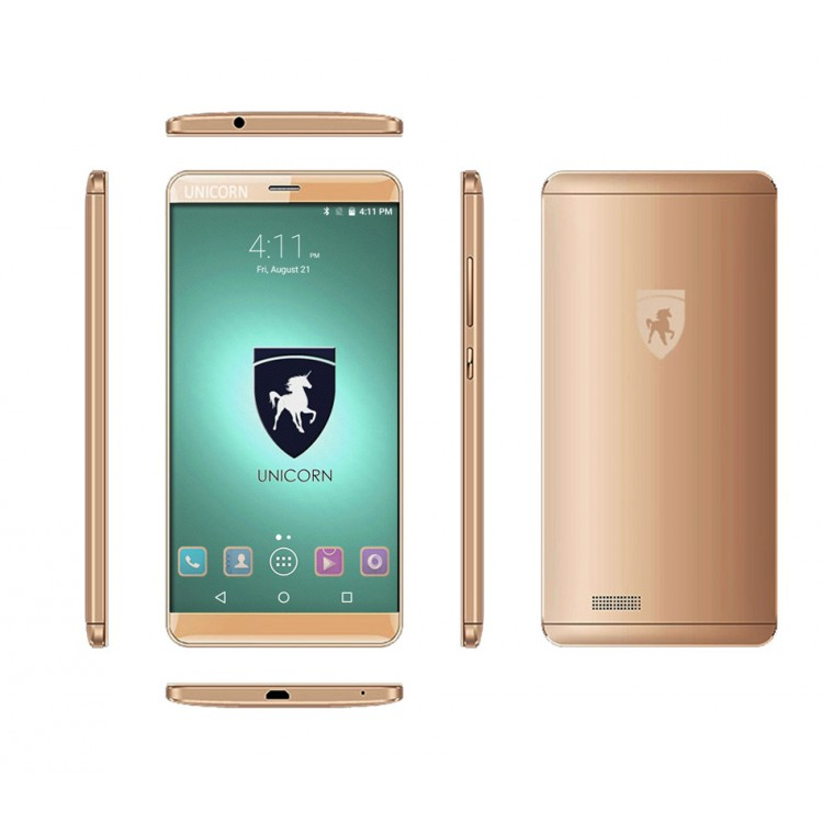 No Camera No GPS UNICORN ZORRO UC-Z550 3G Smartphone 5.5 Inch HD Screen Android 5.1 Lollipop Quad Core 1.2ghz 1GB RAM, 8GB ROM, Gold